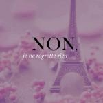 Free Printable – La Vie En Rose Paris Print