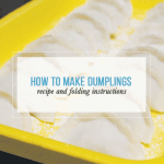 How to Make and Fold Dumplings [With Video]