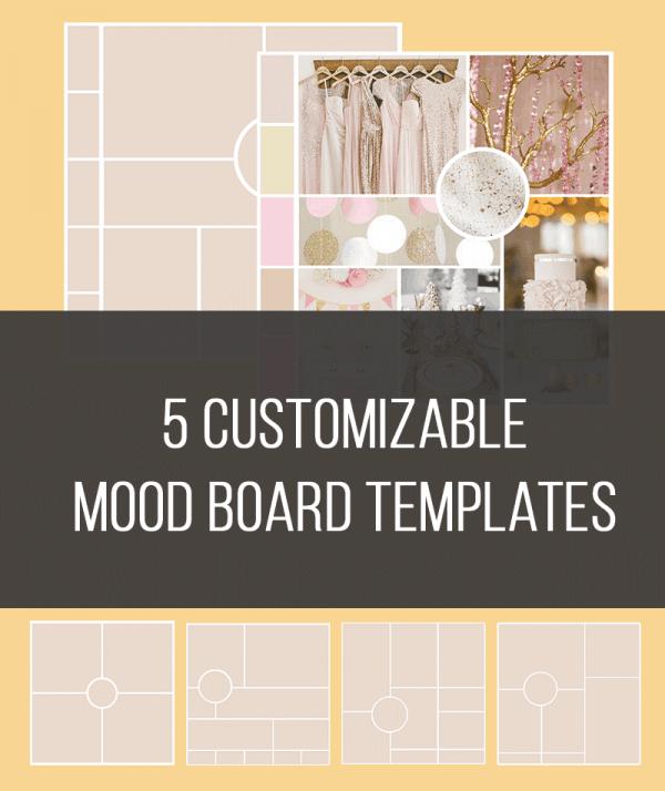 5 customizable mood board templates