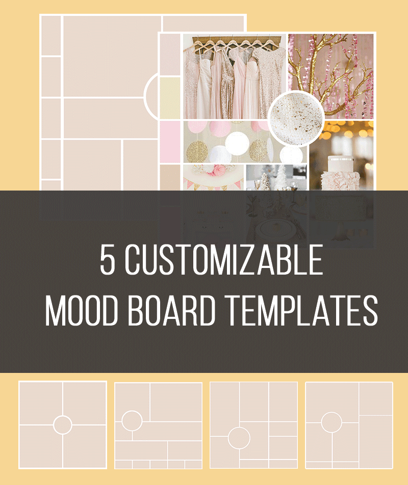 5 customizable mood board templates