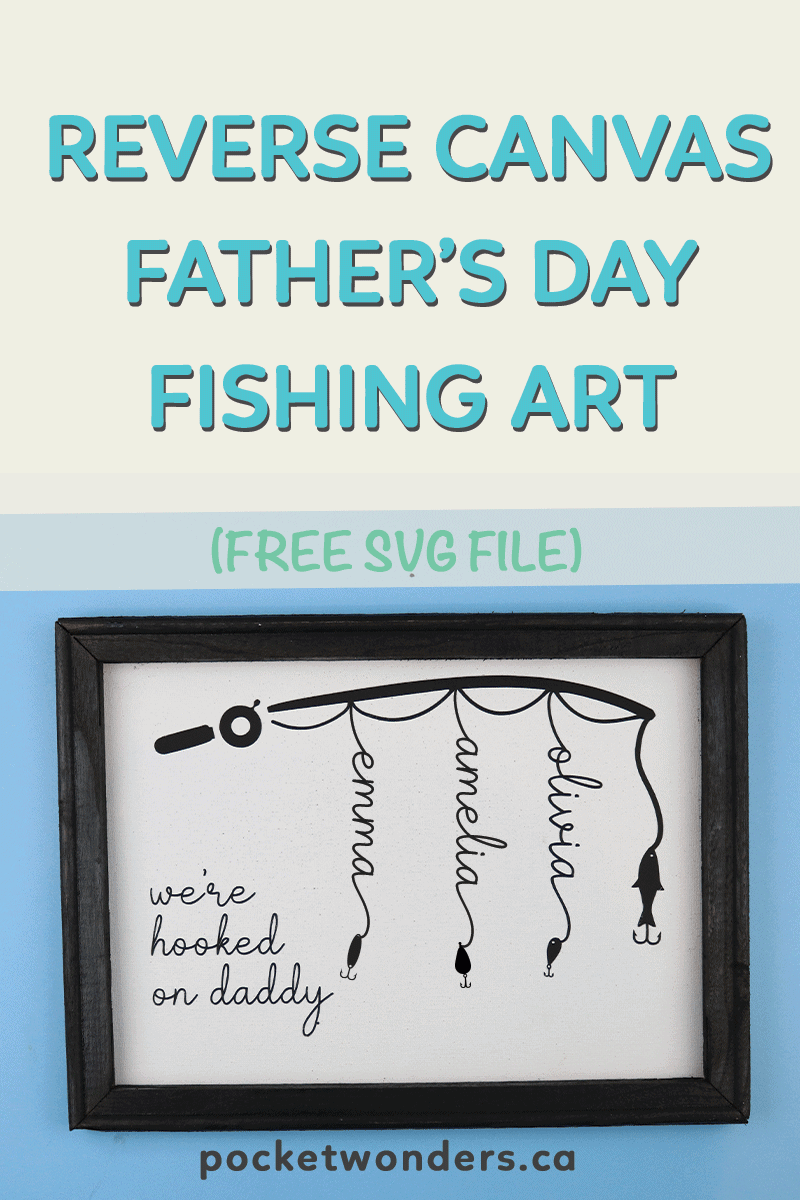 Free Almost files can be used for commercial. Reverse Canvas Father S Day Fishing Art Free Cricut Svg File SVG, PNG, EPS, DXF File